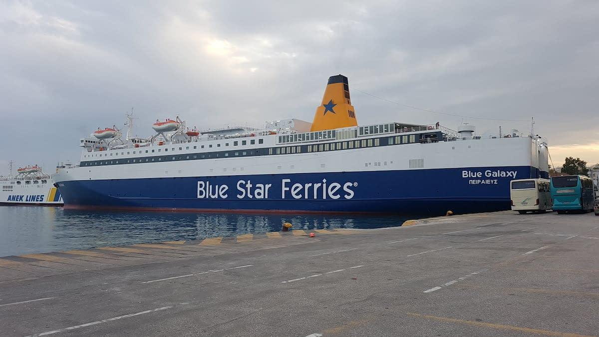 ferry to crete greece