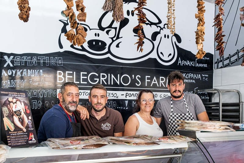 Belegrinos Farm Butchery Vasiliki Lefkada