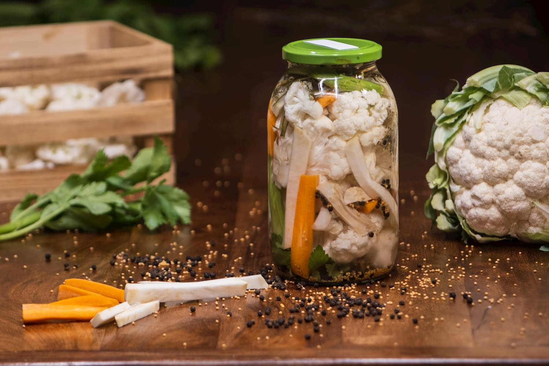 Simple Pickled cauliflower recipe