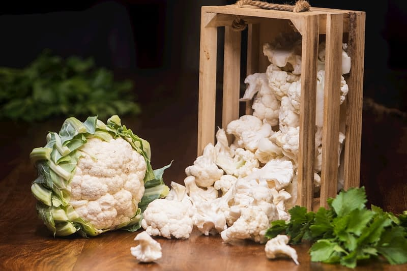 How to make pickled cauliflower. Getting cauliflower ready for pickling.