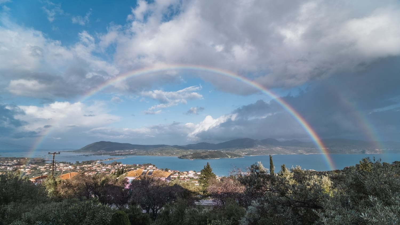 lefkada rainbow