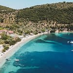 Desimi Beach Lefkada East Coast