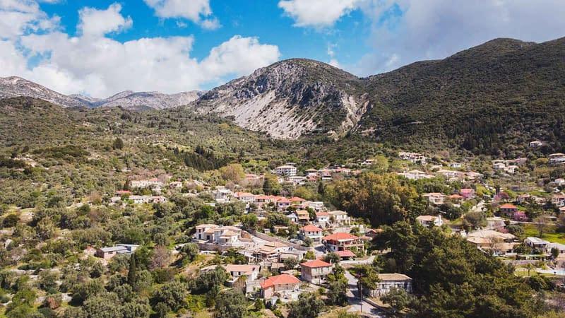 sivros village lefkada greece