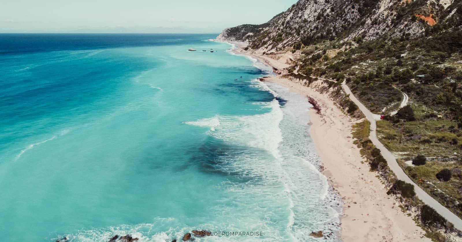 Lefkada Beaches on the West Coast