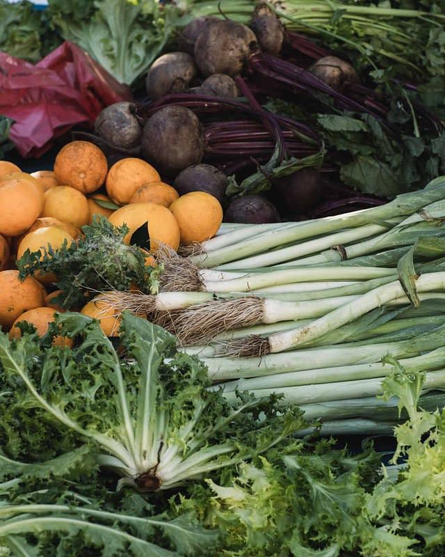 fresh veggies all year long on the island