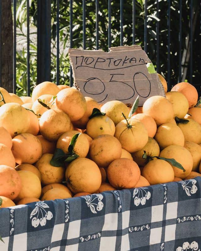 50 cents per kilo oranges price in Greece