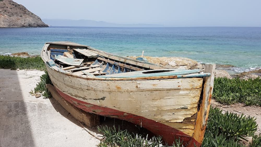 living on a greek island