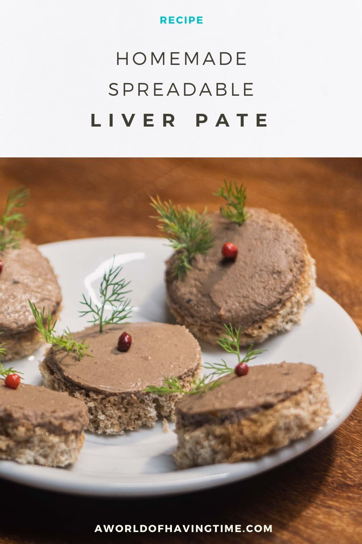 delicious and easy chicken liver pate recipe