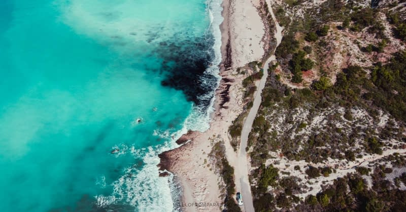 West Coast beaches in Lefkada lesser known to travellers