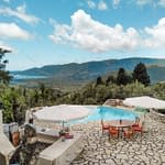 villas with sea view and pool for sale lefkada greece