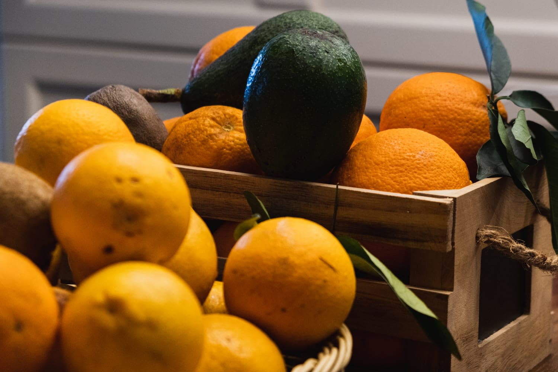 fresh oranges ionian islands