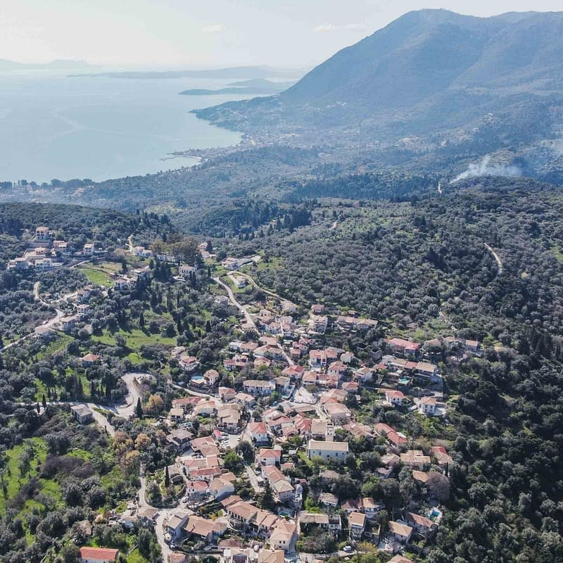 lefkada villages katouna