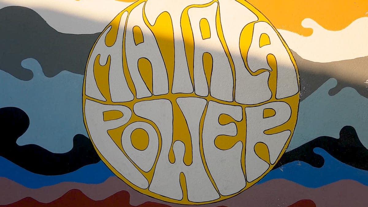Matala wall painting - Matala Power