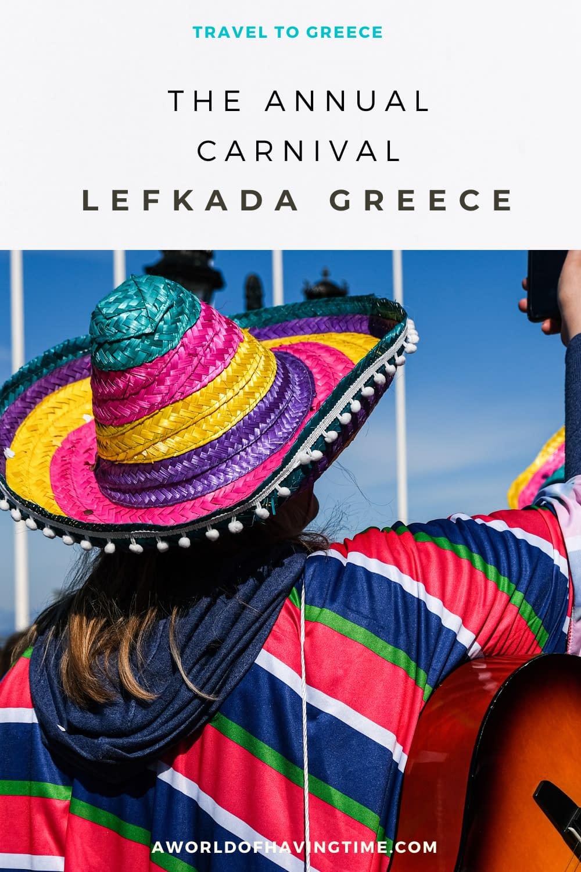 Carnival Season in Greece